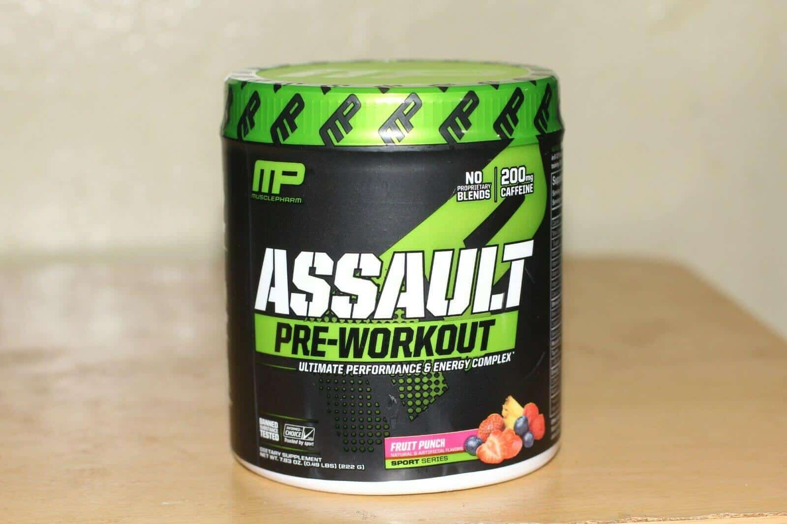MusclePharm Assault Pre Workout