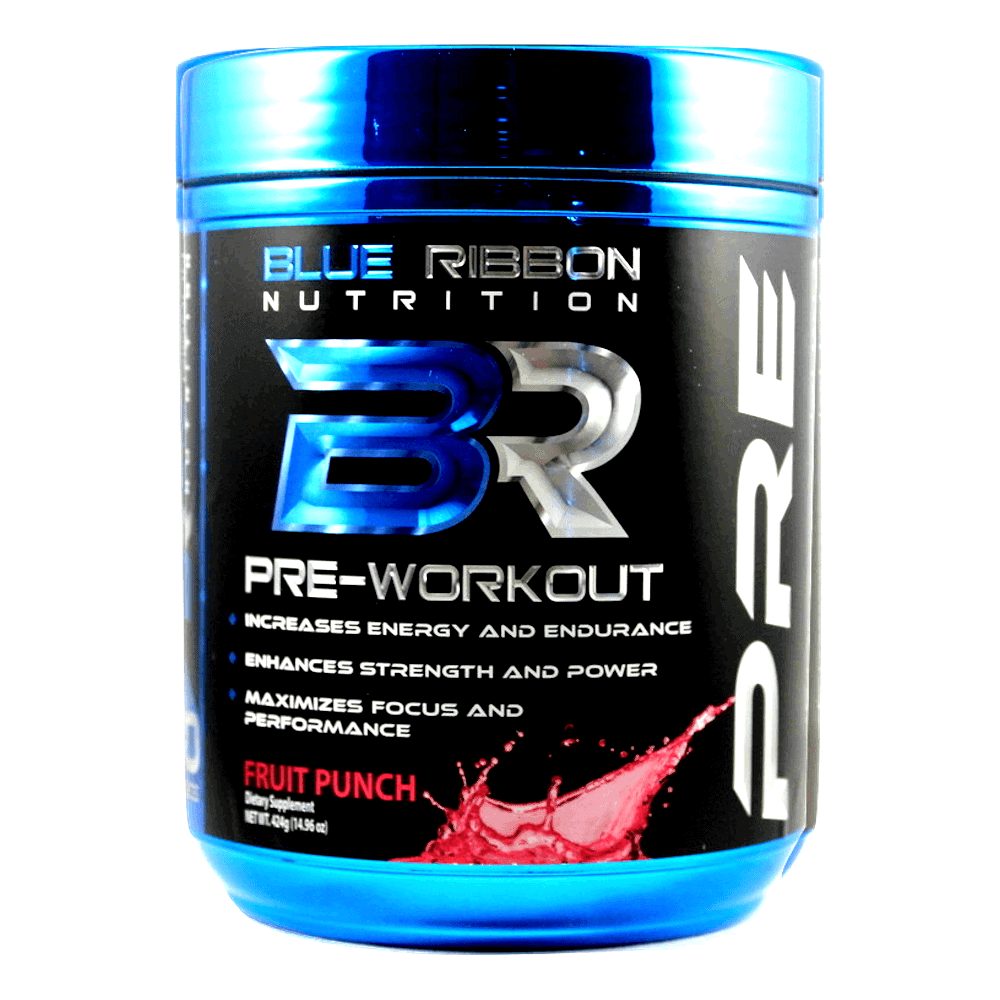 Blue Ribbon Pre Workout