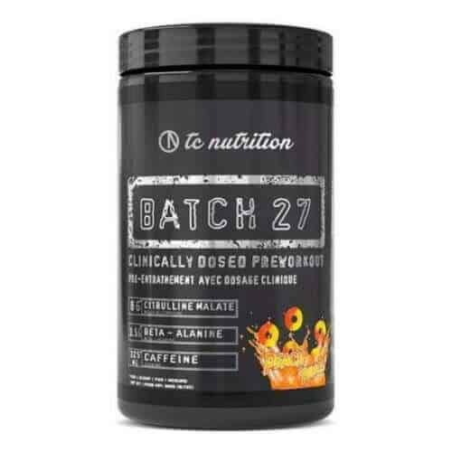 Batch 27 Pre Workout Powder